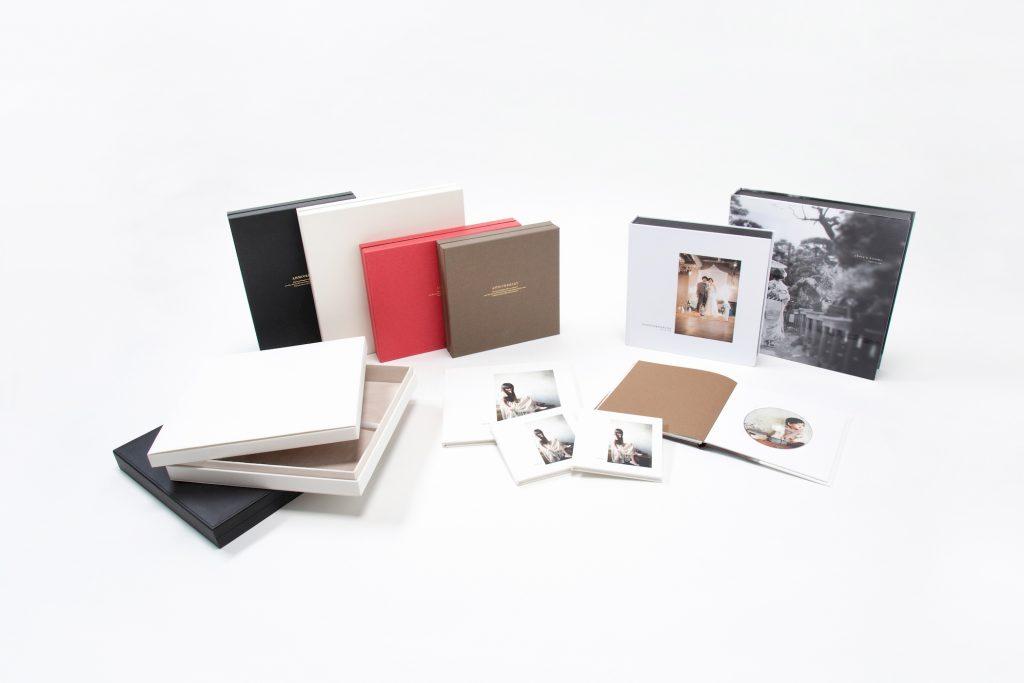 写真アルバムプロプレス:表紙・化粧箱オプション